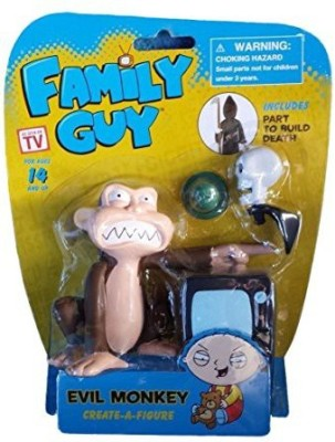 As Made For TV Family Guy Evil Monkey Createa