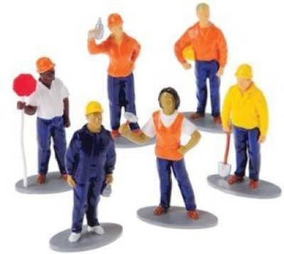 US Toy Construction Worker(1 Dozen)