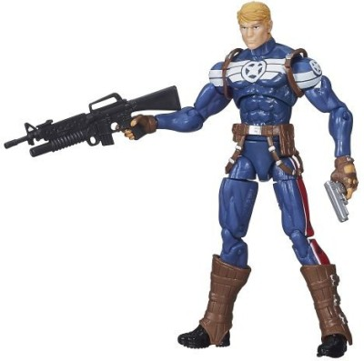 Marvel Infinite Series Steve Rogers 375 Inches