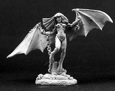 Dark Heaven Chained Succubus