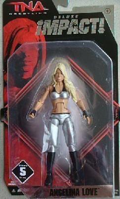 Wrestling TNA Deluxe Impact Series 5 Action Figure Angelina Love