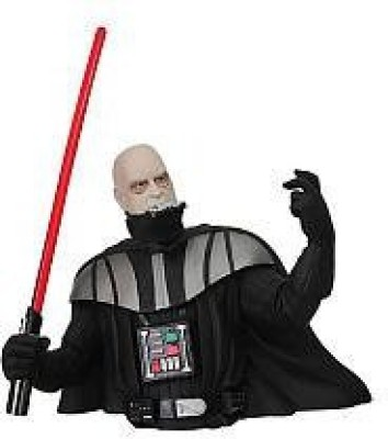 Diamond Select Toys Star Wars: Darth Vader Unmasked Bust Bank