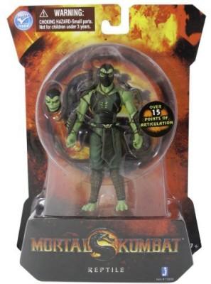 Jazwares Toys Mortal Kombat Mk9 4 Inch Reptile