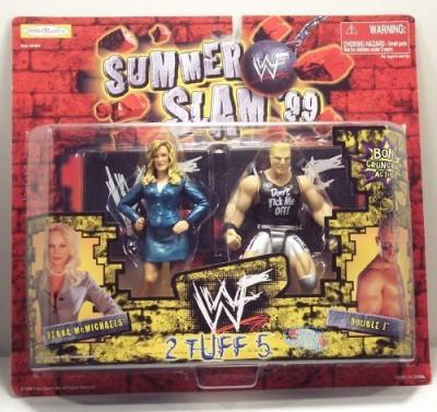 WWF Summer Slam 99 2 Tuff 5 Debra Michaels/Double J Jakks 1999