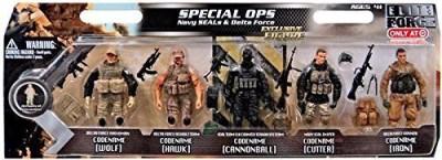 Elite Force Special Ops 5Pack Navy Seals & Delta Force