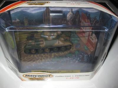 Matchbox Collectibles Russian T34/76 Tank