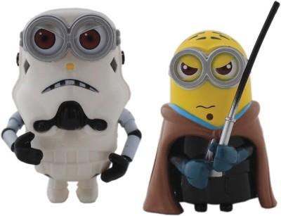Tootpado Cartoon Space Wars Super Hero Action Figure Toys (1c329) - Pack of 2