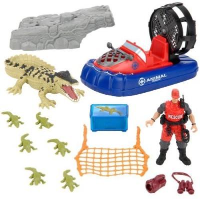 Geoffrey Animal Planet Wild Animal Crocodile Rescue Playset