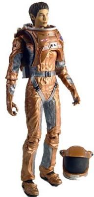 Art Asylum 1 X Star Trek: Enterprise Away Team Sub-Commander T,Pol Action Figure