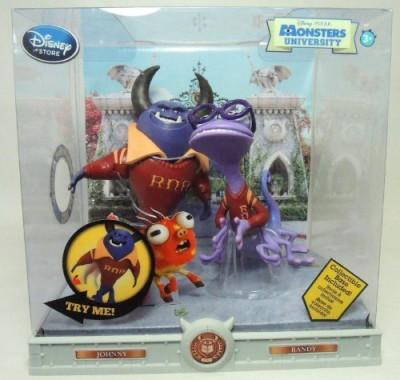 Disney Monsters University Set Johnny & Randy /Pixar