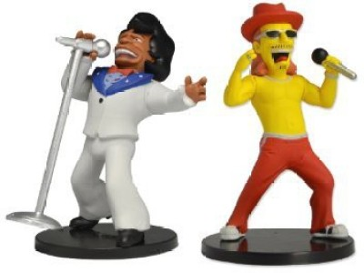 NECA The Simpsons 25Th Anniversary Kid Rock And James Brown