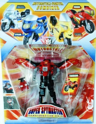 Shop & Shoppee Motorcycle Transformer