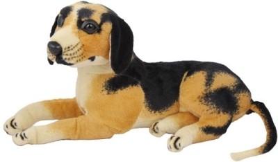 PIST Brown-Stuffed-Animal HM Dog-32 cm