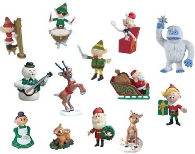 Round 2 Rudolph Ultimate Pvc 2013 Holiday Collection Set