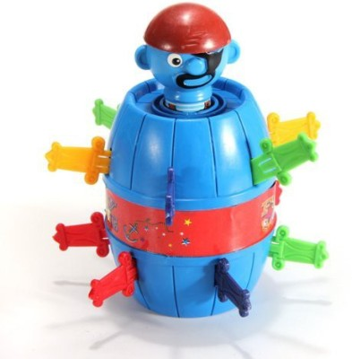 Meco Stab Pop Up Gadget Pirate Barrel Kid Child