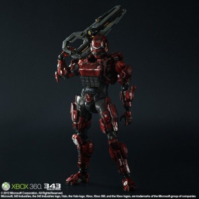 Square Enix Squareenix Halo 4 Spartan Solider Play Arts Kai Red
