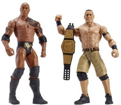 Mattel Wwe Battle Pack Series 24 The Rock And John Cena 2Pack