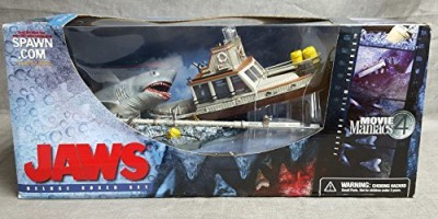 Movie Maniacs Mcfarlane Series 4 (Mm4) Jaws Deluxe Box