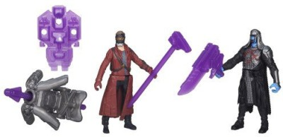 Marvel Guardians Of The Galaxy Starlord And Ronan (2Pack)