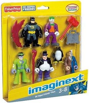 Imaginext Dc Super Friends Exclusive 5Pack