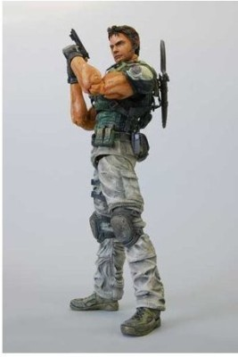 Resident Evil Square Enix Play Arts 5 Deluxe 9 Inch Chris Redfield