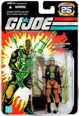 Hasbro G.I. JOE 25th Anniversary 3 3/4