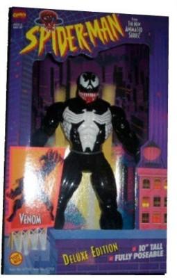 Deluxe Edition Spider-Man Action Figures Venom Marvel Comics