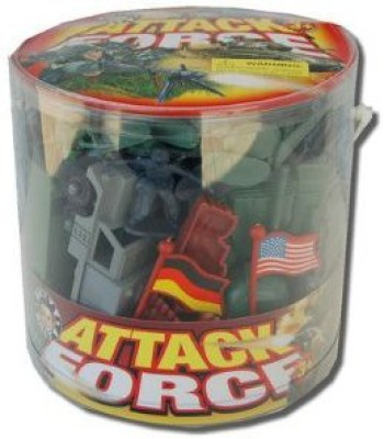 Billy V Wwii Us Vs German Plastic Soldier Bucket 110Pc 132