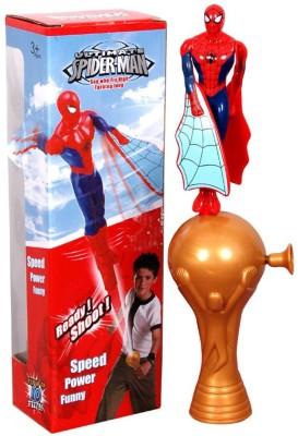 CP Bigbasket Spiderman Flaying Shooter Toy