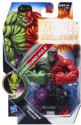 Marvel Hasbro 2011 Nycc New York Comiccon Exclusive Marvel Universe 3 Action Figure Compound Hulk