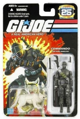 G.I. Joe 25th Anniversary Snake Eyes Action Figure