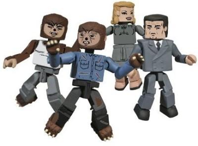 Diamond Select S Universal Monsters Minimates The Wolfman Boxed Set
