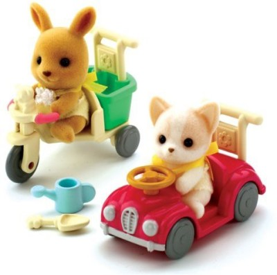 Flair Sylvanian Families Ba Car & Tricycle Ride Ons