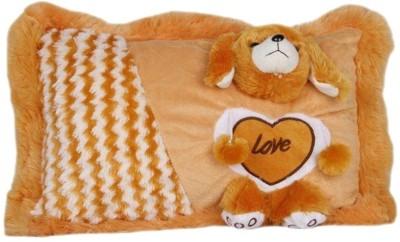 PIST Brown-Soft-Teddy-Pillow