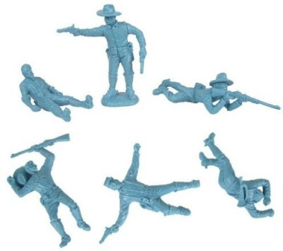 Toy Soldiers of San Diego Civil War Dismounted Cavalry With Casualties Plastic Army