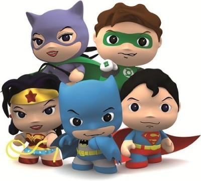 Little Mates Dc Comics Superman Figurine And Puff Sticker