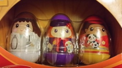 Weebles Playskool Role Play Limited Edition Collector,S Pack