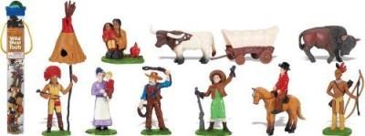 Safari Ltd. Wild West Toob With 11 Hand Painted Figurines