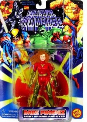 Marvel Dark Phoenix with Light Up Hair and Eyes Marvel Universe Figure