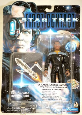 Star Trek First Contact Lt Cmdr Geordi Laforge 6 Inch