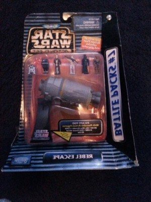 Star Wars Classic Micro Machines Classic Battle Pack Droid Escape 7