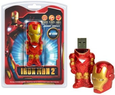 Tyme Machines Iron Man 2 8Gb Usb 20 Flash Drive(Multicolor)