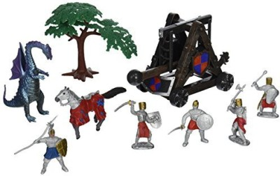 Kingdom of Knights W7504Db Knights With Flying Dragon