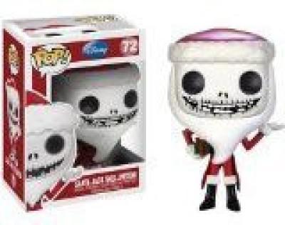 Funko POP Disney : Santa Jack Skellington Toy Figure