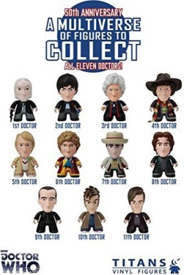 Doctor Who Titans 3 Inch Vinyl Series 3 50Th Anniversary1St Doctor
