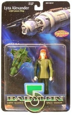 Exclusive Premier Lyta Alexander Action Figure