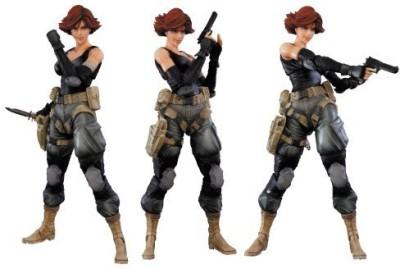 Square Enix Metal Gear Solid Play Arts Kai Meryl Silverburgh