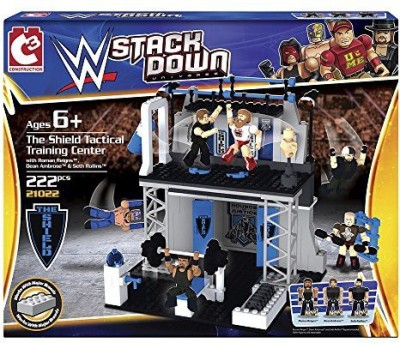 The Bridge Direct Wwe Stackdown The Shield Tactical Training Center Play Set