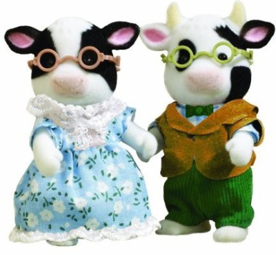 Flair Sylvanian Families Fresian Cow Grandparents