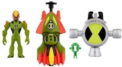 Ben 10 Alien Creation Battle Launchers Swampfire